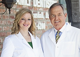 Head shot of Drs. Molly and Ted Marshall