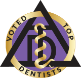 Voted Top Dentists logo